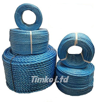 Blue Polypropylene Rope In 220m Coil