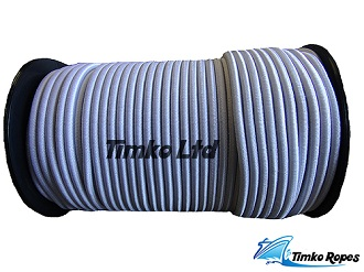 White Elastic Bungee Cord / Shock Cord