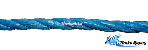 12mm Blue Polypropylene Rope Sold By The Metre