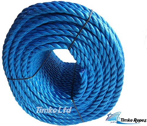 16mm Blue Polypropylene Rope x 220m Bulk Coil