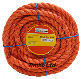 Polypropylene rope - 16mm Dia Red x 30m Mini Coil