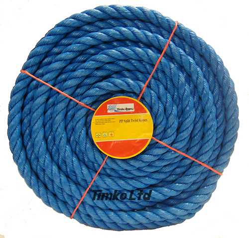 Polypropylene rope - 18mm Dia Blue x 30m Mini Coil