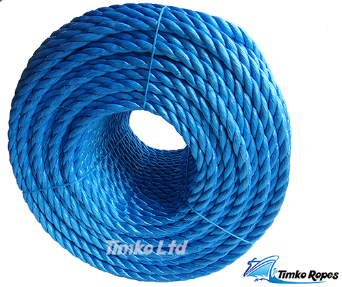 20mm Blue Polypropylene Rope x 220m Bulk Coil