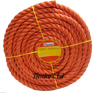 Polypropylene rope - 18mm Dia Red x 30m Mini Coil