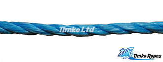 6mm Blue Polypropylene Rope Sold By The Metre