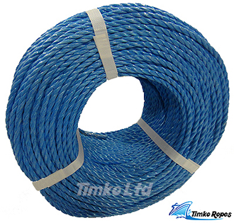220mtr coil of 4mm Blue Polyprop Rope