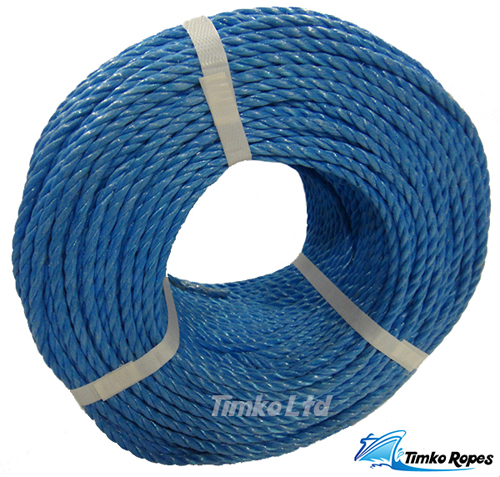 220mtr coil of 6mm Blue Polyprop Rope