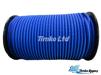 6mm Blue Elastic Bungee Shock Cord x 10mtrs